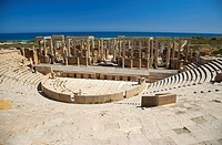 The Theatre, Leptis Magna, Libya, North Africa