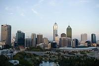 Perths skyline