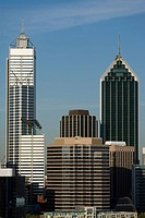 Skyscrapers in perth