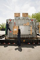 Transporting industrial equipment