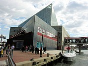 National Aquarium. Inner Harbor. Baltimore, Maryland, USA