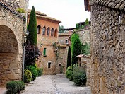 Peratallada. Baix Emporda, Girona province, Catalonia, Spain
