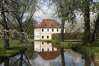 Northern Pavilion of Schleissheim Palace, Oberschleissheim near Munich, Upper Bavaria, Germany, Europe