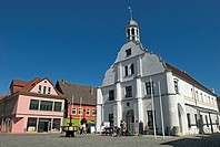 Wolgast Town Hall, Mecklenburg-Western Pomerania, Germany, Europe