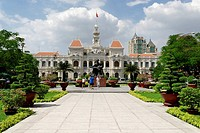 Historic city hall of Saigon, Ho Chi Minh City, Vietnam