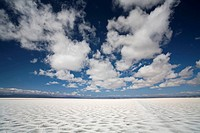 Salt lake Salinas Grandes, across the Andes, Jama pass Paso de Jama, Argentina, South America