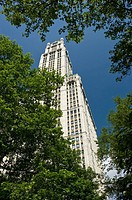 Woolworth building (1913), Seaport area, Manhattan, New York, USA, 2008
