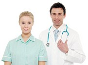 Medical staff.