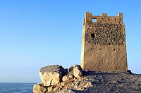 Watch tower, Street of Hormus, Musandam Al-Kashab, Oman