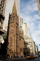 New York , 5th Avenue , Presbyterian Church