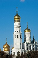 Ivan The Great Bell Tower Kremlin Moscow Russia