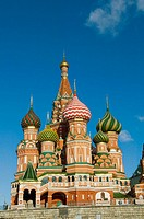 St  Basils Cathedral Red Square Moscow Russia