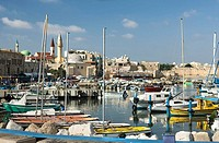 Port old city acco. Israel.