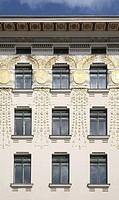 Wien, Linke Wienzeile Nr. 38, Wohnhaus von Otto Wagner 1898_1899