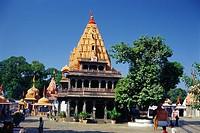 Mahakaleshwar Shiva Mandir , Ujjain , Madhya Pradesh , India