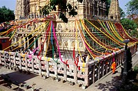 Mahabodhi temple , Bodhgaya , Bihar , India
