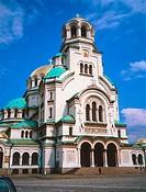 Facade of church, Sofia, Bulgaria