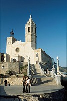 Cathedral, Sitges, Catalonia, Spain