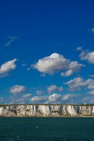 White cliffs of Dover, Kent, England