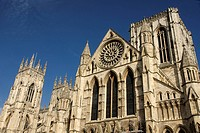 Exterior of York Minster, York, North Yorkshire, England