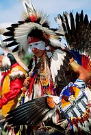 Rocky Boy Powwow in Montana, USA