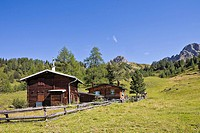 Private mountain lodge near the Filzmoosalm alpine pasture, Grossarltal, Salzburg, Austria, Europe