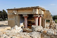 Palace of Knossos, Crete, Greece, Europe