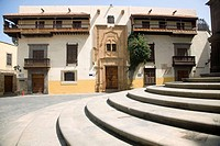 Columbus House-Museum (west facade), Vegueta district, Las Palmas de Gran Canaria, Gran Canaria, Canary Islands, Spain
