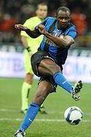 patrick vieira,milano 04_10_2008,serie a football championship 2008_2009,inter_bologna 2_1,photo guido zucchi/markanews