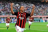 ronaldinho,milano 19_10_2008 ,serie a football championship 2008/2009 ,milan_sampdoria 3_0 ,photo paolo bona/markanews