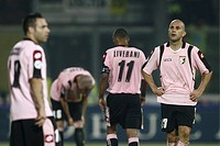 mark bresciano dejected,palermo 26_10_2008 ,serie a football championship 2008/2009 ,palermo_fiorentina 1_3,photo p.barone/markanews