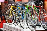 bicycles,milano 05_11_2008 ,cycle and motorcycle show ,photo paolo bona/markanews