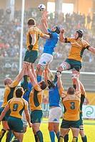marco bortolami,test match di rugby ,italia_australia 20_30 ,photo paolo bona/markanewstest match di rugby ,italia_australia 20_30 ,photo paolo bona/m...