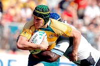 matt giteu,montpellier 23/09/2007 ,rugby world cup ,australia_fiji ,photo paolo bona/markanews