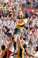 hugh mcmeniman ,montpellier 23/09/2007 ,rugby world cup ,australia_fiji ,photo paolo bona/markanews