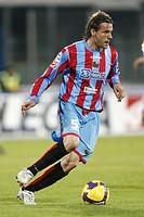 ezequiel carboni,catania 29_11_2008,italian soccer championship serie a 2008/2009,catania_lecce 1_1,photo p.barone/markanews