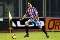 matias silvestre,catania 29_11_2008,italian soccer championship serie a 2008/2009,catania_lecce 1_1,photo p.barone/markanews