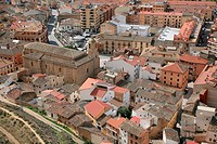 Lodosa village in Navarre, Navarra, Spain