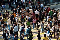 China, Asia, Hong Kong, Asia, Central, Crowd Scene, Crowds, Pedestrians, Street Scene, Tourism, Holiday, Vacation, Tra