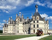 France, Europe, Chateau Chambord, Loire Valley, Cher, French, Renaissance, historical, architecture, building, exterio