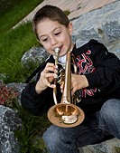 Tobias Krieger, 7 years old, from Sauerlach / Munich, Bavaria, Germany, is playing trumpet since he is 3 years old. He is one of the 10 finalists at t...