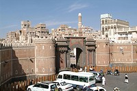 Yemen, Sana´a, Sanaa, Old San´a, architecture, old city, town, UNESCO, world heritage site, Arabian, Arabic, Arab, tra