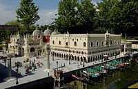 Venice, Marcus place made of Lego, theme park Legoland, Guenzburg, Germany