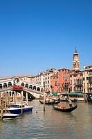 Rialto Bridge, Canal Grande, Venice, Veneto, Italy
