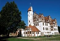 Castle Basedow, Mecklenburg-Vorpommern, Germany