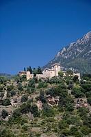 Hilly landscape, Deia, Mallorca, Balearic Islands, Spain