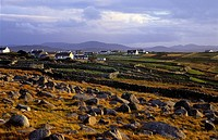 Landscape near Derrybeg, County Donegal, Ireland, Europe