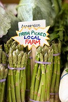 Fresh Asparagus in Produce Department
