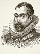 Sir Francis Walsingham 1532 to 1590  English statesman and intelligence chief for Queen Elizabeth I  From The National and Domestic History of England...