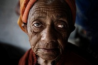 Pokhara, Nepal, Senior at an aged Shelter